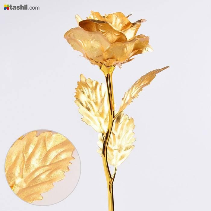 گل فلزی با روکش طلا