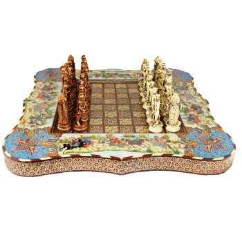 شطرنج خاتم کاری