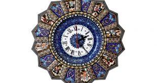 ساعت خاتم میناکاری