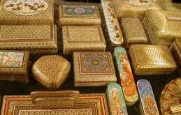 راه اندازی کارگاه خاتم کاری در خانه صنایع دستی بیرجند