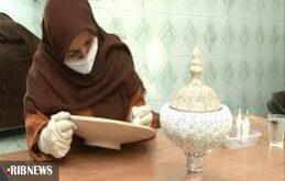 طرح توانمندسازی زنان سرپرست خانوار در فارس با افزایش اشتغال زایی در هنر میناکاری روی سفال